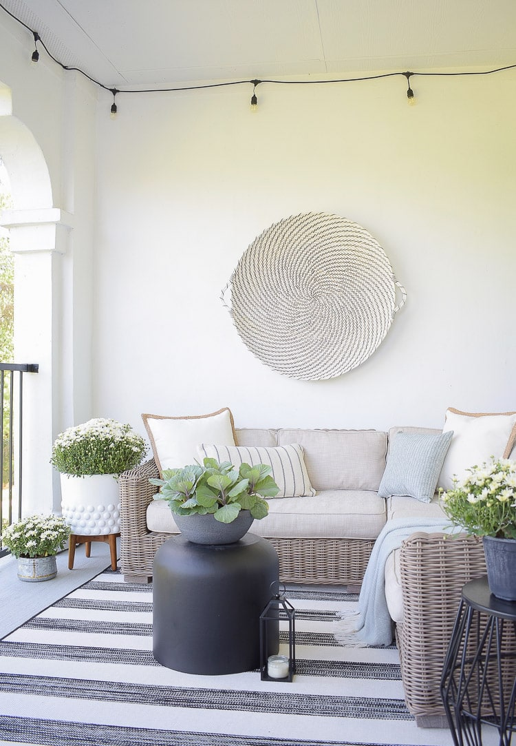 Such a beautiful patio from Z Design at Home!