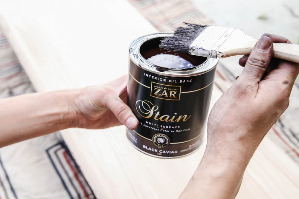 The best stain to use when redoing furniture. #zar #ad