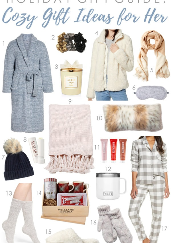 Holiday Gift Guide 2019: Cozy Gifts for Her