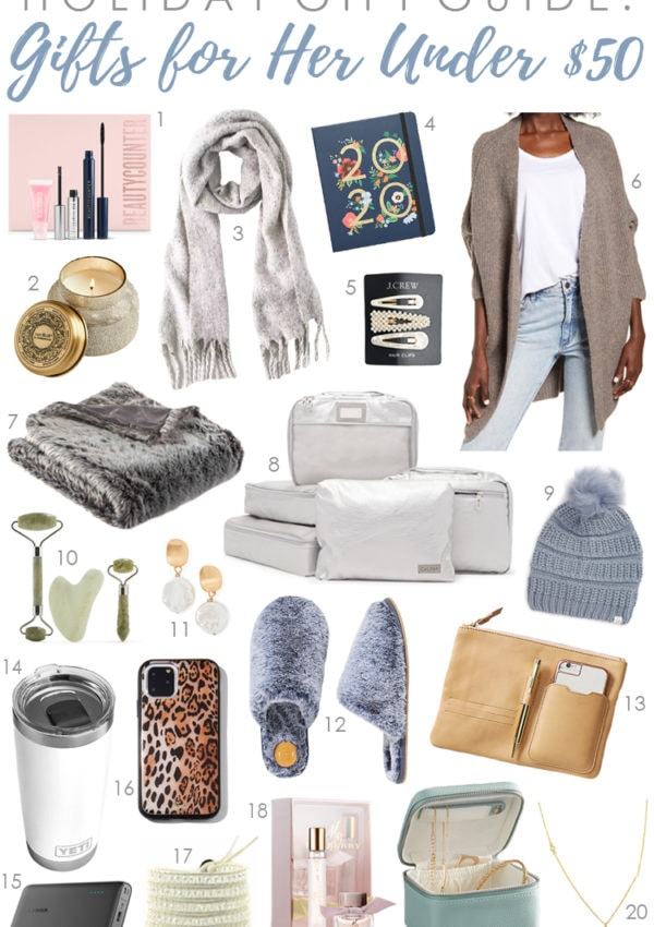 Holiday Gift Guide 2019: Gifts for Her Under $50, Under $100 & Splurge Gifts