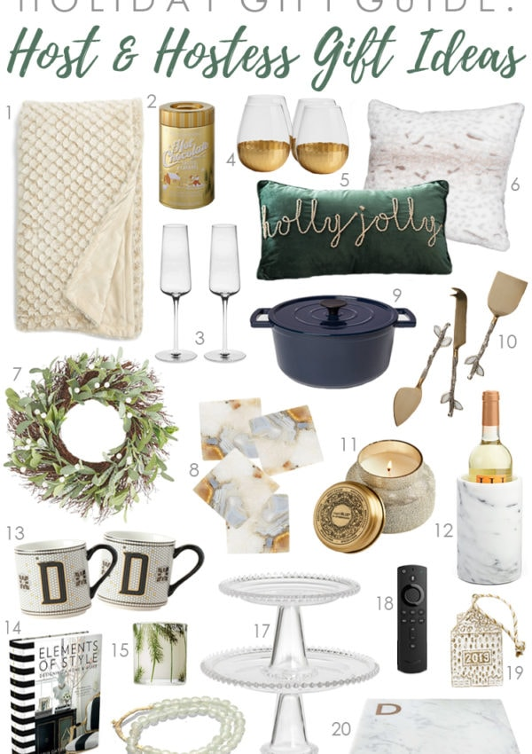 Holiday Gift Guide 2019: Great Gift Ideas for the Host + Hostess