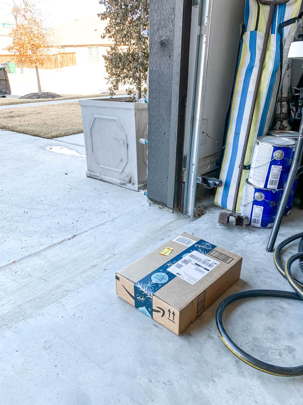 A secure way to protect your packages. Detailed review on Key by Amazon In-Garage Delivery. #ABlissfulNest