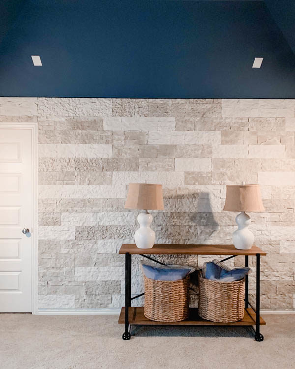 How To Build A Faux Stone Wall