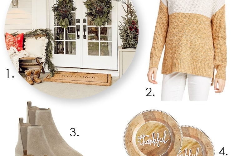 From cozy sweaters to a home tour - These are 5 things you don't want to miss! #ABlissfulNest