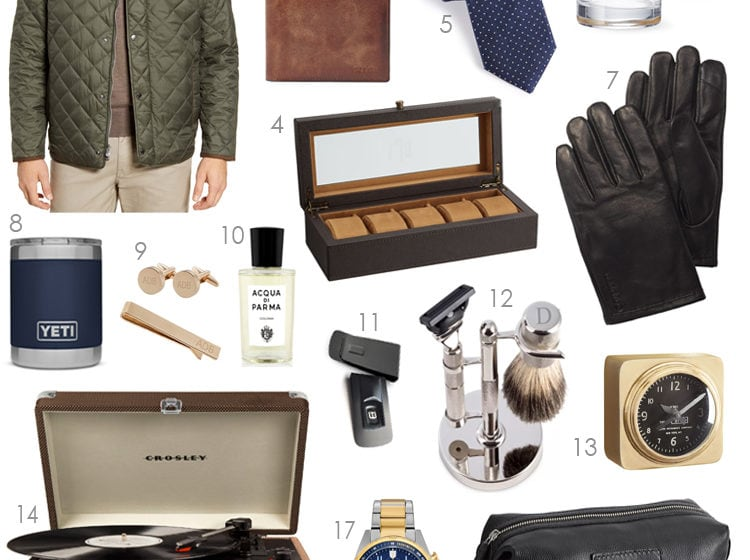 A comprehensive selection of gift ideas for men for the holiday season. #ABlissfulNest #giftideas #christmasgift