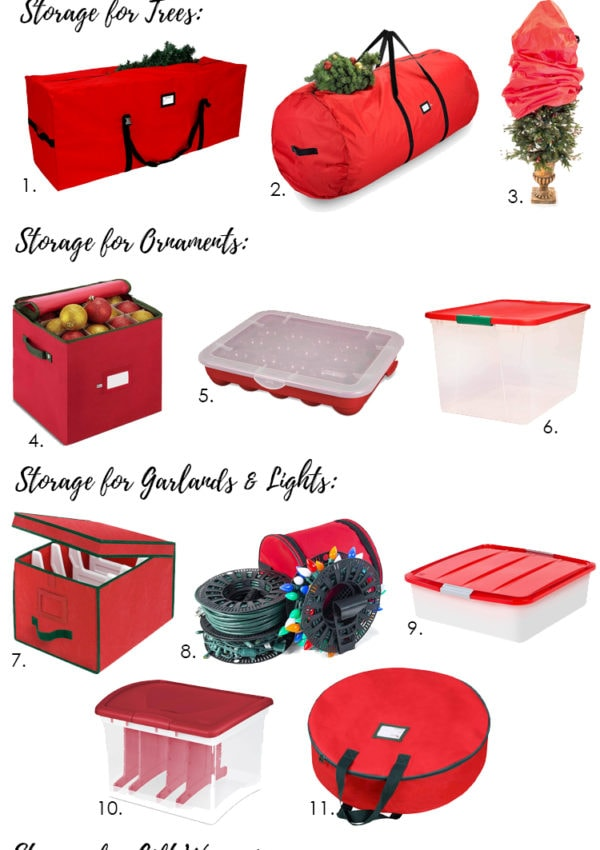 Best Storage Containers for Christmas Decor