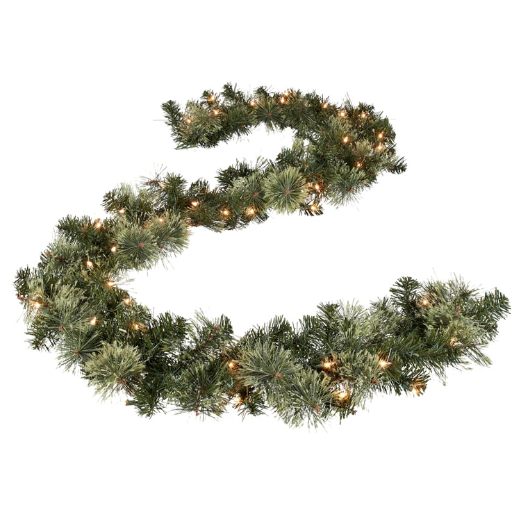 This garland is under $20 and absolutely stunning holiday decor! #ABlissfulNest