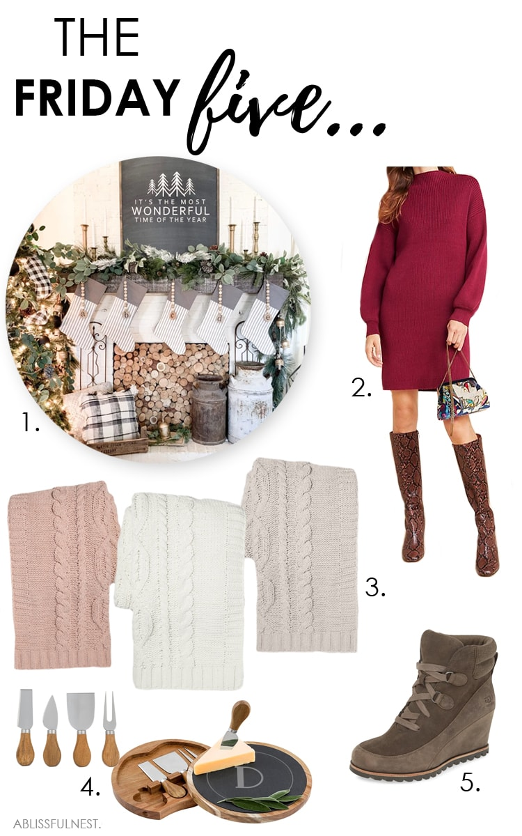 Five must-have items for the season! #ABlissfulNest