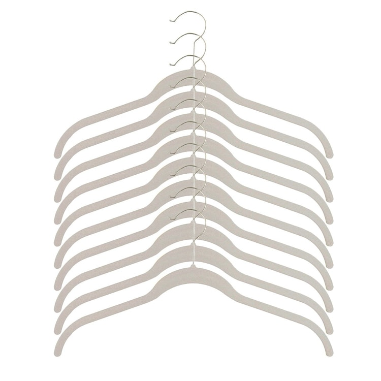 These hangers are great for all shirt types and are a must have for all of your new year organization goals! #ABlissfulNest