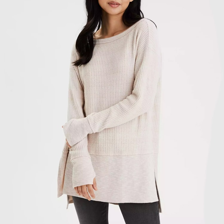 I love this under $30 long sleeved top! Perfect to wear with jeans or leggings. #ABlissfulNest