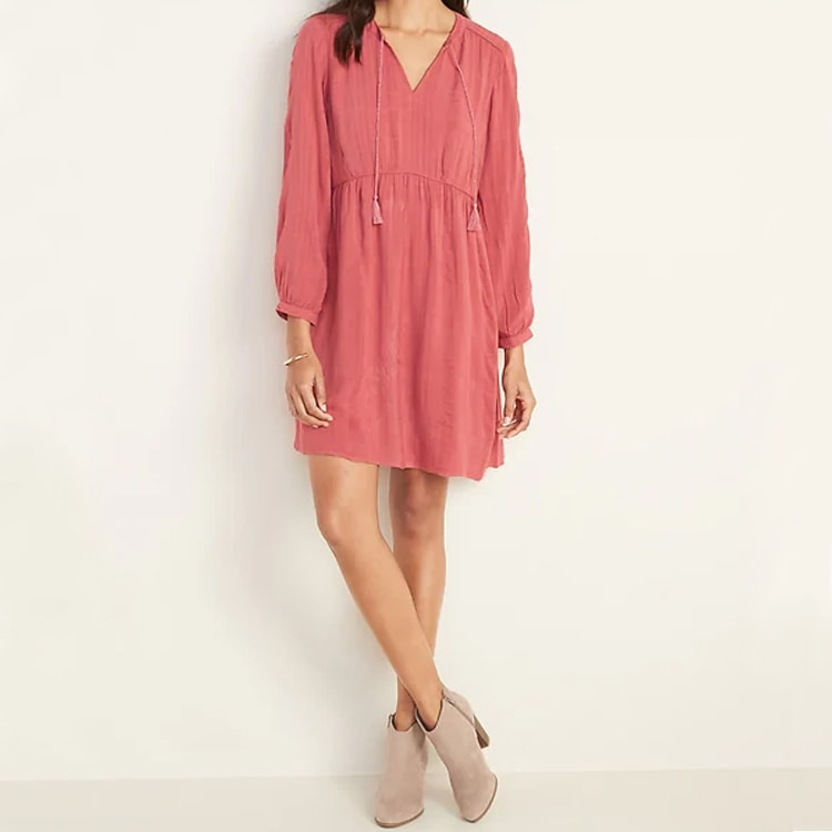 This swing dress is perfect as we transition into the spring! #ABlissfulNest
