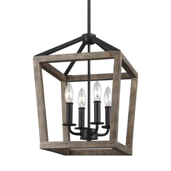 Such a pretty lantern for a farmhouse home.