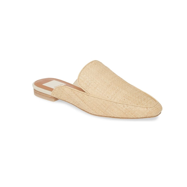 These raffia mules are a perfect transitional shoe as we get into the spring! #ABlissfulNest