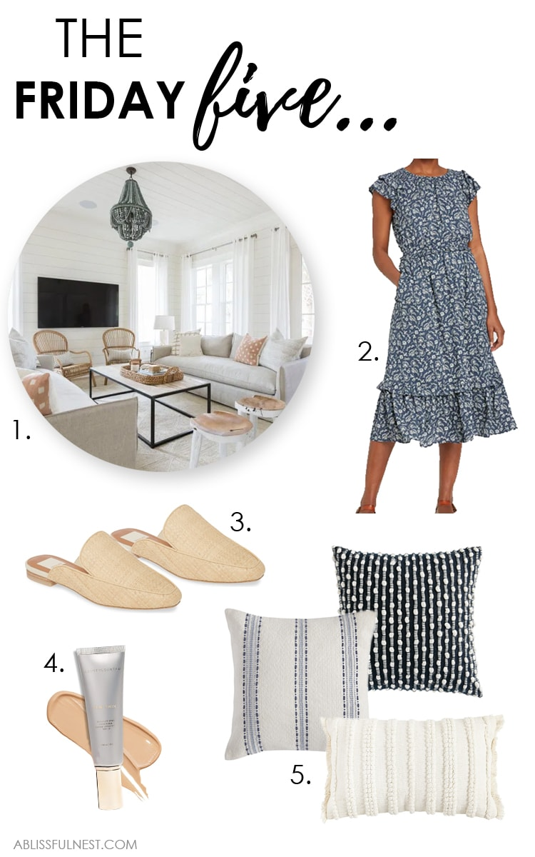 Five of the best finds from the week! #ABlissfulNest