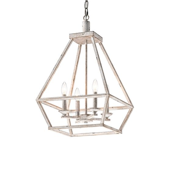 Such a gorgeous finish on this pendant light!