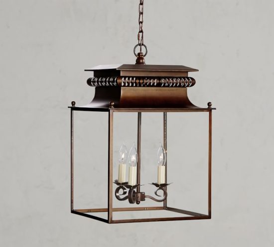 Love this gorgeous lantern for a French Country home.