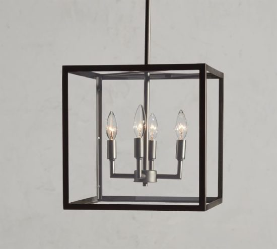 A great modern lantern for a kitchen or entry.
