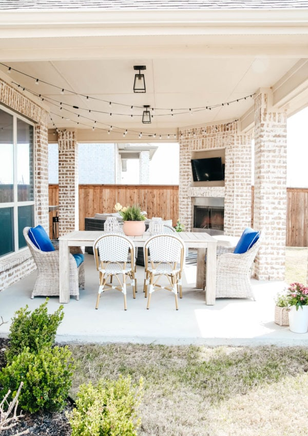 Budget-Friendly Spring Patio Updates