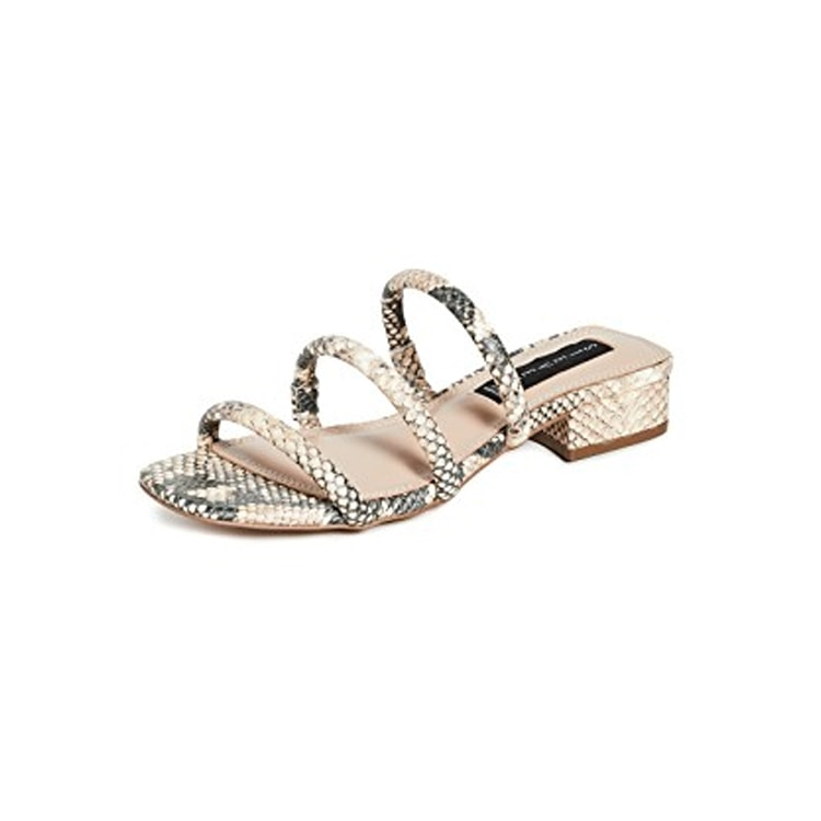 The cutest, most trendy pair of sandals to wear all spring and summer! #ABlissfulNest