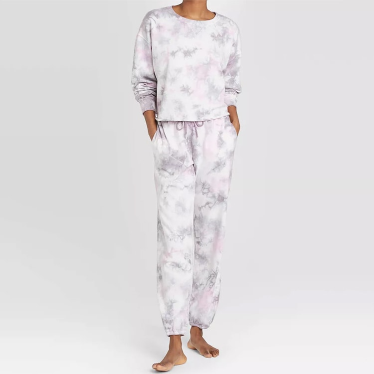 The cutest and trendiest tie-dye loungewear set! #ABlissfulNest