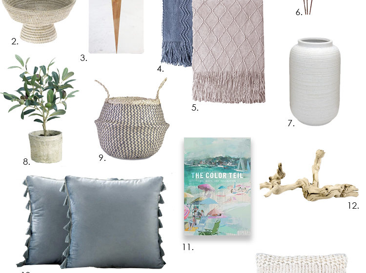 Affordable options for spring decorating from Amazon to update your space for the season. #ABlissfulNest #spring #springdecor #springdecoraating