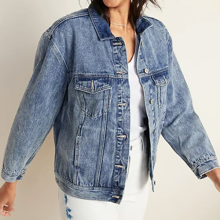 The cutest, best fitting denim jacket that you'll ALL of the time! #ABlissfulNest