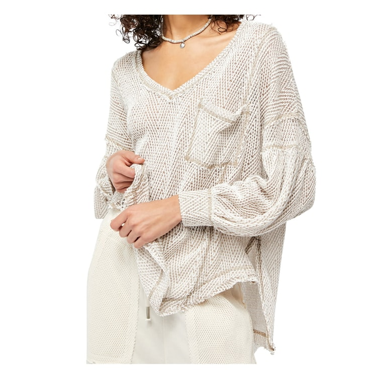 This knit top is perfect for spring and cool summer nights! #ABlissfulNest