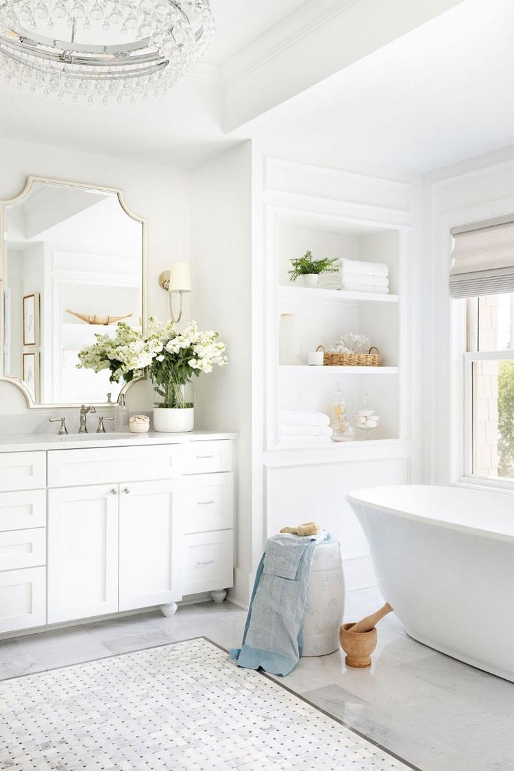 The most beautiful bathroom design from Bria Hammel Interiors!