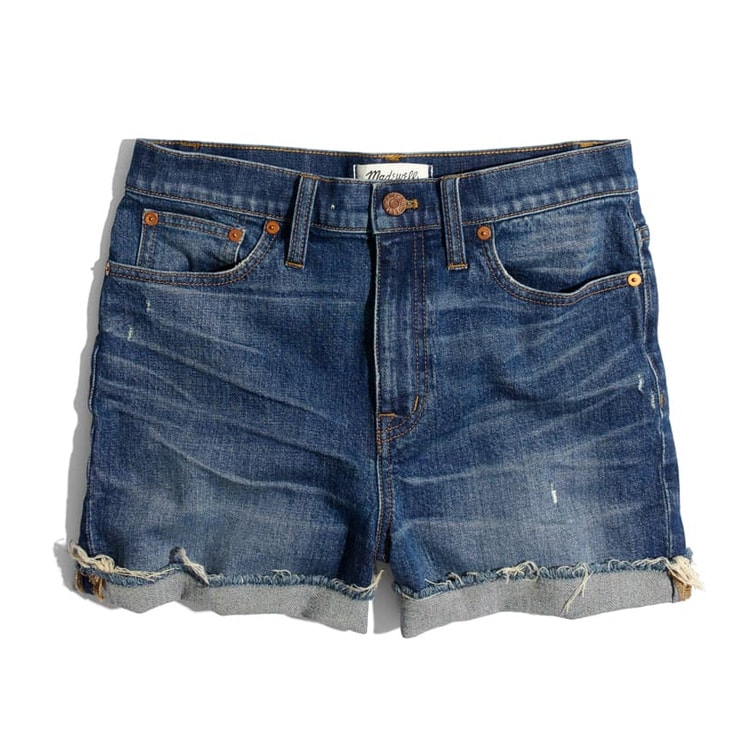 These denim shorts are perfect for the summer! #ABlissfulNest