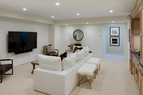 Add a little glam to your home theater! #theater #hometheater #mediaroom