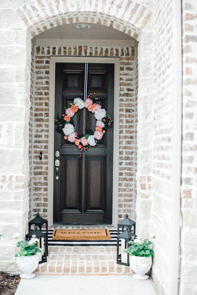 Spruce up your front porch with these beautiful and affordable summer wreaths!