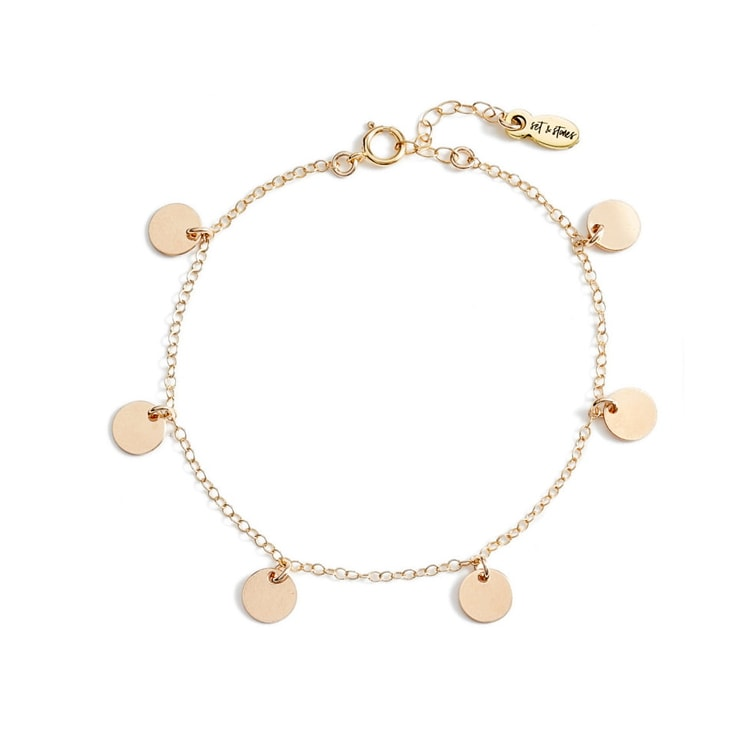 The prettiest, most dainty bracelet to add to your stack this summer! #ABlissfulNest