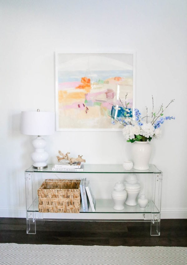 My Favorite New Artist + Summer Entryway Details
