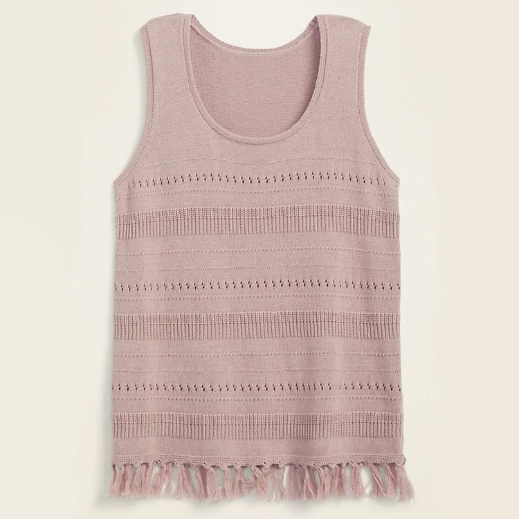 The prettiest sweater tank top for summer! #ABlissfulNest