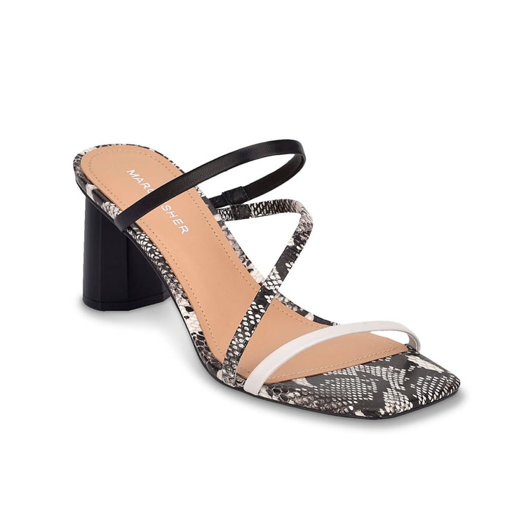 The funnest snakeskin block heels for summer! #ABlissfulNest