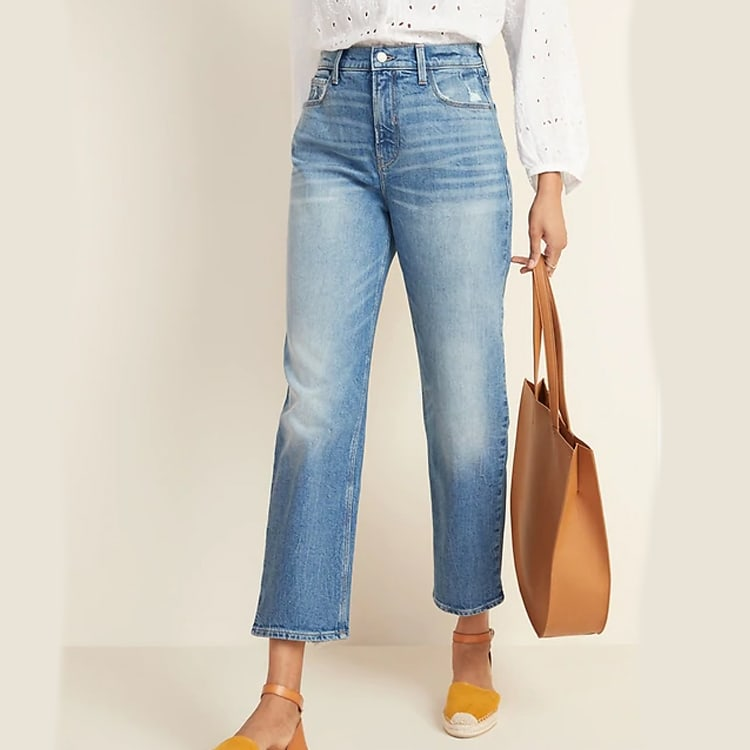 These high waisted jeans are a must have and are under $50! #ABlissfulNest