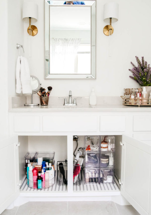 Simple Solutions for Bathroom Organization