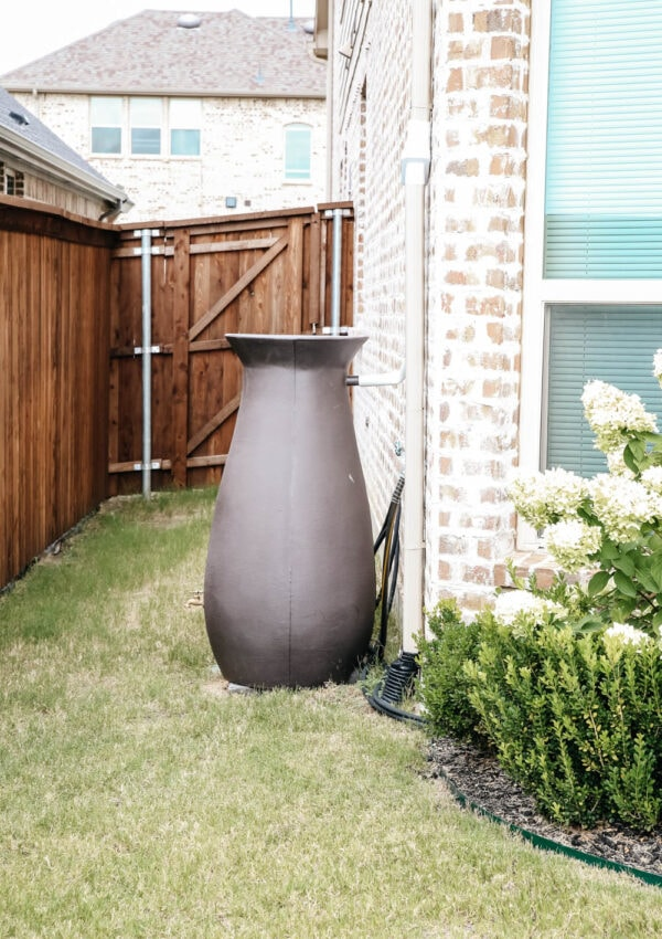 How To Easily Install A Rain Barrel For Your Garden And Save Money
