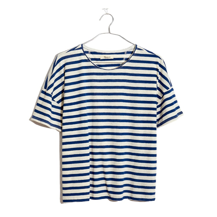This striped t-shirt is a must have! #ABlissfulNest