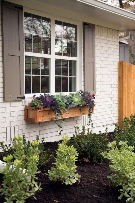 Gorgeous Window Planter Box Ideas To Dress Up Your Windows