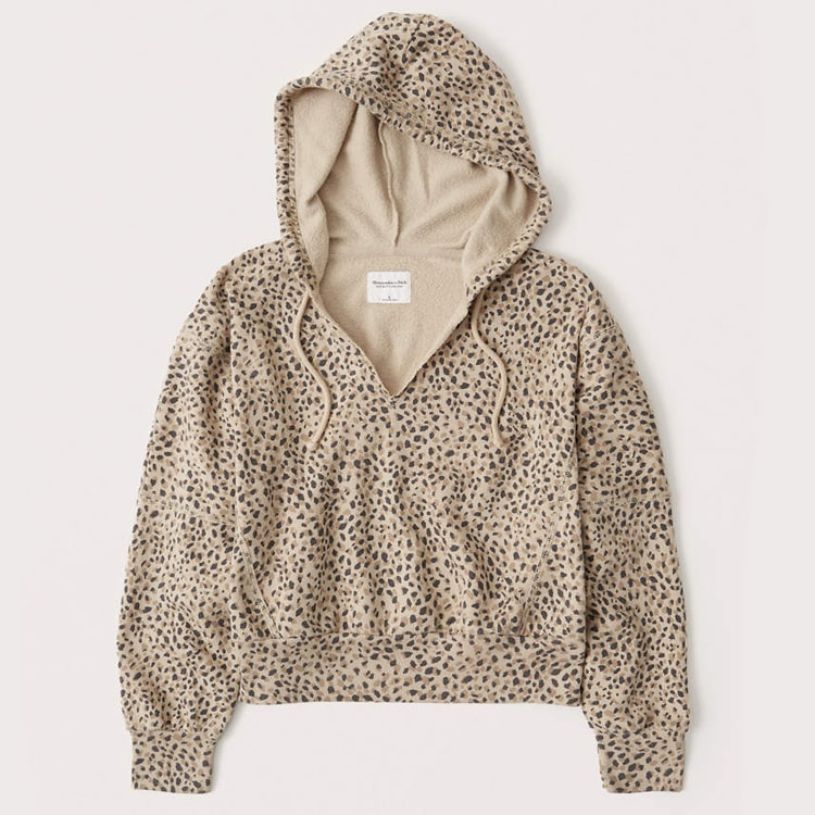 This leopard printed hoodie is a must have! #ABlissfulNest