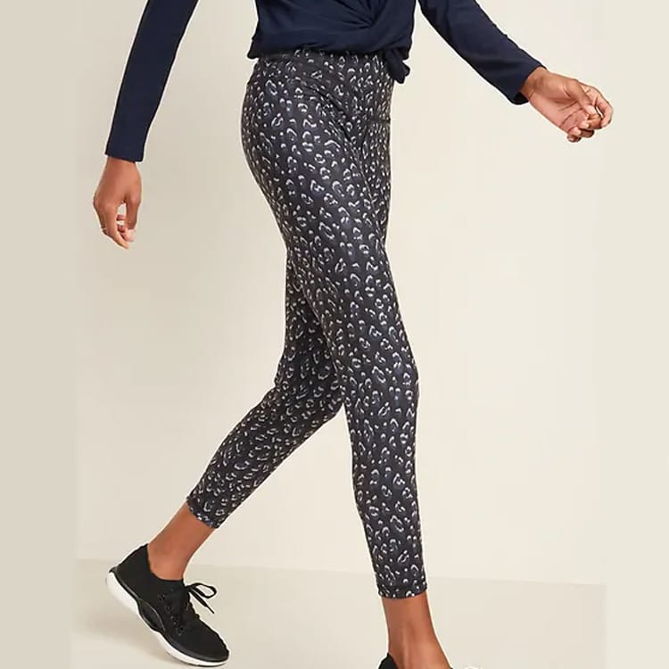 These leopard printed leggings are a must have for workouts! #ABlissfulNest