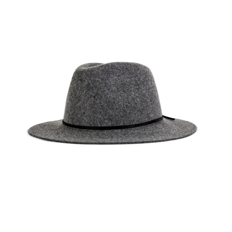 This gray fedora is a great staple! #ABlissfulNest