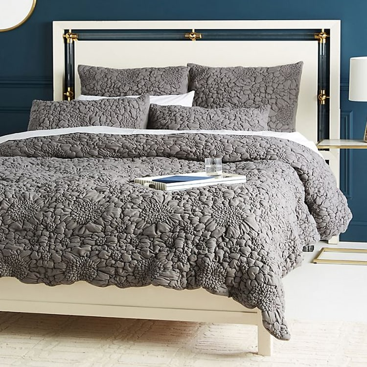 This textured bedding set is something so different, fun and adds a lot to any room! #ABlissfulNest