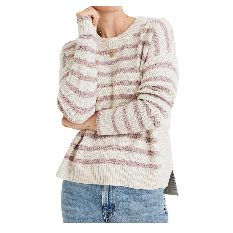 This striped sweater will become a new staple in your closet! #ABlissfulNest