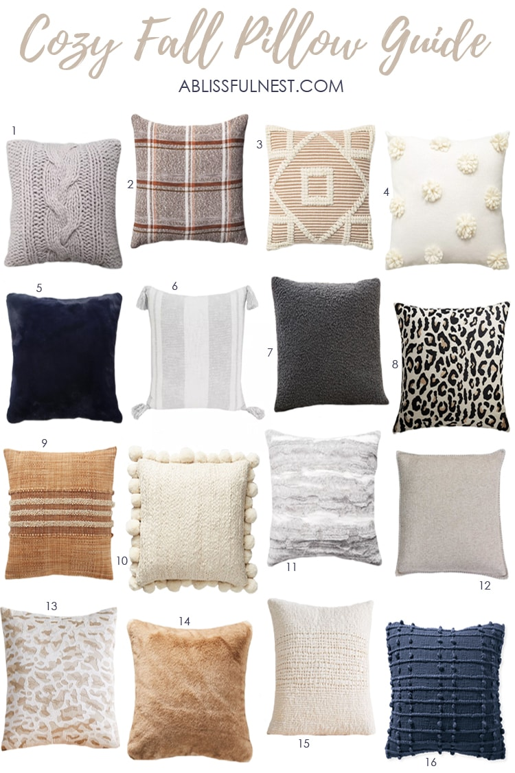 Cozy Fall Pillow Guide A Blissful Nest