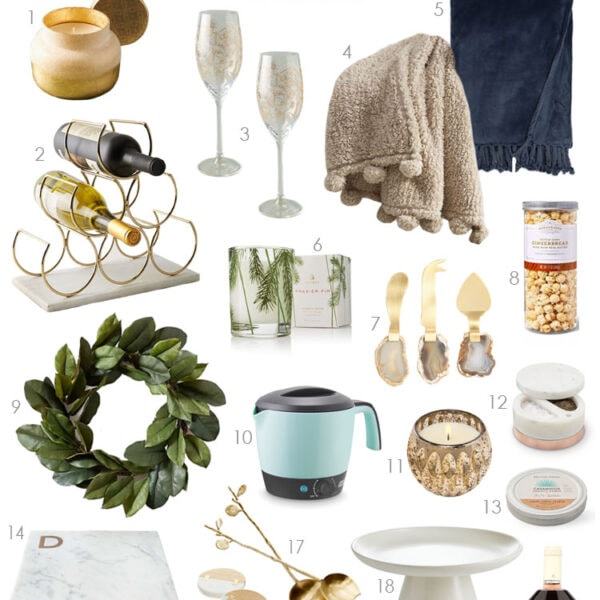 A comprehensive selection of gift ideas for hostess gift ideas for the holiday season. #ABlissfulNest #giftideas #christmasgift