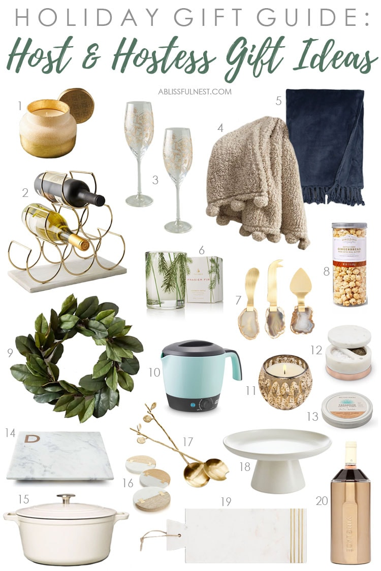 Holiday Gift Guide 2020: Gifts for The Hostess