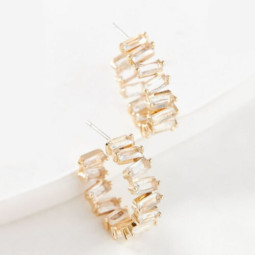 These earrings are stunning - they look so expensive but really are so affordable! #ABlissfulNest
