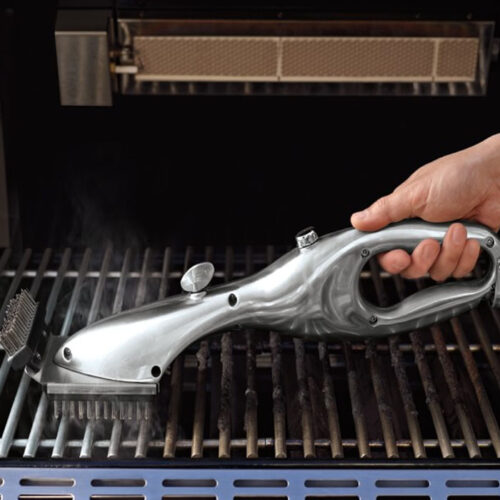 The perfect grill cleaning brush for any guy who loves to grill! #ABlissfulNest